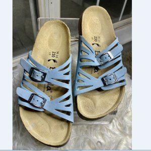 Birkenstock Women Blue Betula Sandals sz 36 / 5